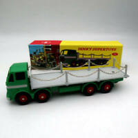 Atlas Dinky toys 935 Leyland Octopus Flat Truck With Chains Diecast Models Auto