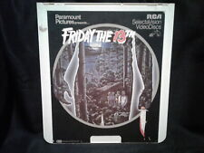 FRIDAY THE 13TH ~ CED VIDEODISC 1980 (1981) ~ KEVIN BACON