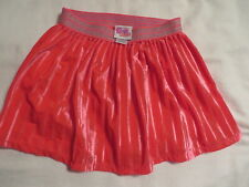 Nickelodeon Sunny Day Skirt S (6-6X) Coral Pleated Elastic Waist