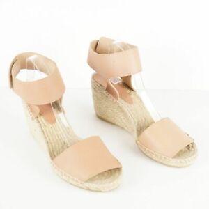 Vince Sophie Espadrille Wedge Blush Budge Sandal Womens Sz 11