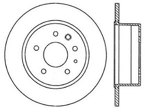 StopTech Slotted & Drilled Sport Brake Rotor - st127.35002R