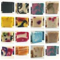 Handmade Natural Soap 5 bars- Pick Your Scents Natural oils & Shea Butter Vegan