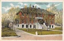 McPherson Kansas Hospital Antique Postcard J57449