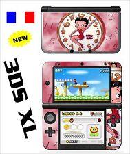 SKIN STICKER AUTOCOLLANT DECO POUR NINTENDO 3DS XL - 3DSXL REF 16 BETTY BOOP