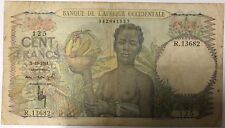 AFRIQUE OCCIDENTALE - 100 FRANCS (2.10.1951) - Billet de banque (B+)