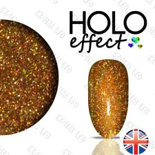 LASER HOLO MERMAID EFFECT NAIL ART DUST Holographic < Egyptian Gold 16 >