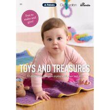 Patons Cleckheaton Panda Pattern Book #373 Toys & Treasures