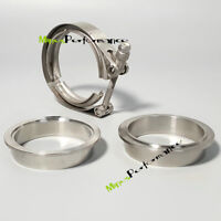 "Universal Stainless steel 304 3"" inch 76MM Clamp V band clamp Male Female Flange"
