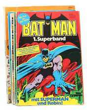 Auswahl: Superman Batman Superband Roter Blitz, Aquaman, Superman präsentiert
