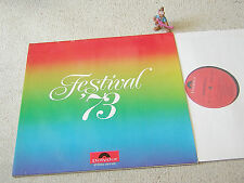 FESTIVAL ´73 rare PR-ONLY 2LP +FOC POLYDOR KIN PING MEH ABACUS NIGHT SUN EPITAPH