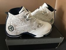 outlet store 469b0 e1ebf Nike Air Jordan 12.5 TEAM - MIDNIGHT NAVY WHEAT-WHITE - LASER ETCHED SIZE