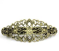 5 Bronzefarbe Blume Haarspangen Haarklammer Haarclip