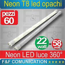 NEON LED TUBO LED 150 CM  T8 OPACHI CALDO FREDDO 220V LUCE KIT 60PZ