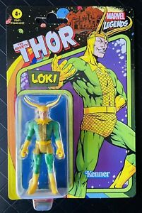 """Kenner Marvel Legends 2021 Retro Loki Mighty Thor Unpunched 3.75"""" Action Figure"""