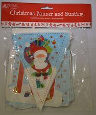 CHRISTMAS BANNER AND BUNTING - IDEAL HOUSE DECORATION