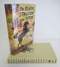 THE BLACK STALLION & SATAN by Walter Farley circa 1954 in DJ