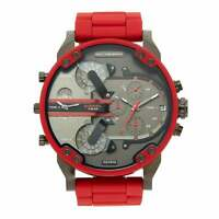 Diesel DZ7370 Red and Black Daddy Chronograph Men's Watch