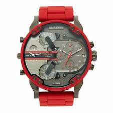 Diesel DZ7370 Red and Black Daddy Chronograph Men's Watch