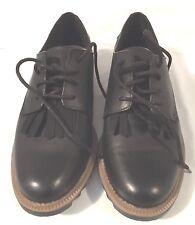 Clarks Griffin Mabel Black Women Oxford Shoes US Size 7M