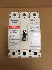 EATON Cutler Hammer ED 65k 3 pole 240v 225 amp ED3225 ED3225BP10  Breaker Red