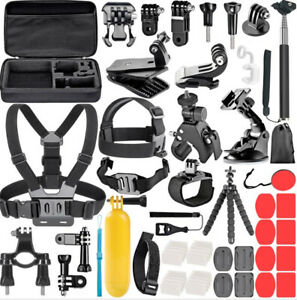 GoPro Accessories Set for Go Pro Hero 8 7 6 5 4 Black Mount for Xiao Yi 4k