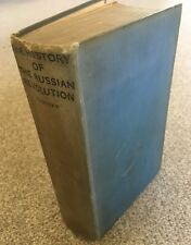 The History of the Russian Revoluton Trotsky First Edition 1934 Victor Gollancz