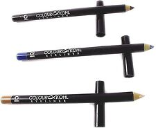 Colour and Kohl Eyeliner Pencil Brown Blue Gold Sealed Cosmetic Make up new