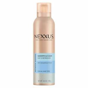 Nexxus Between Washes Smooth & Clean Dry Shampoo Foam - 6.8oz   *NEW*