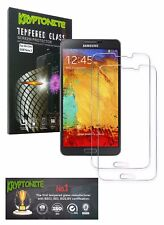 KRYPTONITE Samsung Galaxy Note 3 Tempered Glass Screen Protector (2 Pack)