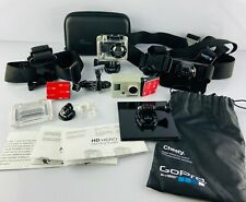 GoPro HD HERO Naked Video Camera Waterproof Mount with Lots of Extras WORKS GOOD