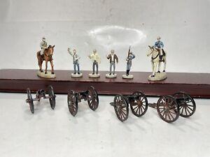 Hawthorne Village Ho Scale On30 Model Trains Civil War Figures & Guns Ex LN
