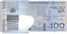 Macau BNU, 8 8 2005 100 Patacas P82a  ((Unc))