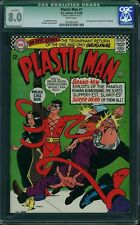 CGC (D.C) PLASTIC MAN SET 1960'S 1 VF,2,3,6,7,9 NM 9.4  NICE!(@@)!  6 BOOKS