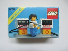 VINTAGE LEGO 6610 SHELL PETROL PUMPS 1981 NEW SEALED MIB MISB UNOPENED LEGOLAND