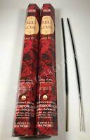 Hem Red Rose Incense  2 x 20 Stick Boxes, 40 Sticks