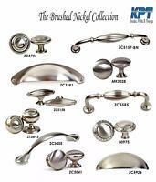 Knobs Pulls Handles Kitchen/Bathroom Cabinet Hardware Brushed Nickel Collection