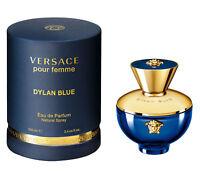 VERSACE DYLAN BLUE pour femme eau de parfum 100 ml 3.4 oz new in box sealed