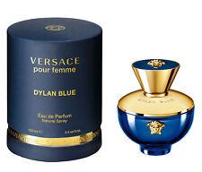 2017 New VERSACE DYLAN BLUE pour femme eau de parfum 100 ml 3.4 oz NIB sealed
