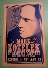Mark Kozelek 2006 Original Seattle Concert Show Poster redhouse painter sun kil