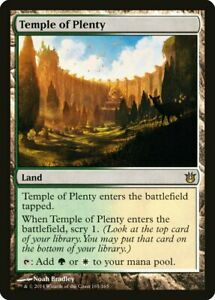 Temple of Plenty - MTG Born of the Gods - RARE Card -