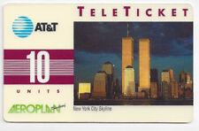 AT&T Teleticket Phonecard World Trade Center aus 1992 USA Telefonkarte WTC