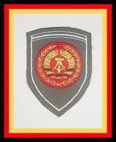 SCHUTZPOLIZEI VoPo Volkspolizei grün v Hemd Polizei Patch Abzeichen 2 x DDR