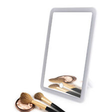 Rechargeable LED Makeup Mirror LED A Rotation Illuminated Touch Screen Standing