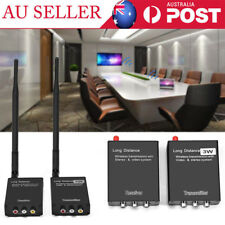 Wireless Audio Video AV Transmitter Sender & Receiver Adapter for Home Theater