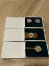 Department Of The Army Cufflinks Money Clip And Tie Bar