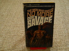Doc Savage The Men who smiled no more - 1st book edition 1970