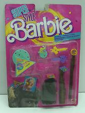 VINTAGE BARBIE SUPER STYLE MAGIC HAIR CHARMS 1988 FASHION MATTEL MOC #1616