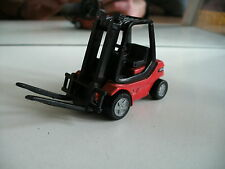 Siku Fork Lift Truck Linde in Red
