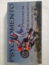 Psychomento - Vol. 1 Psycho in Sacramento VHS 2002 motorcycle street bike riding