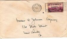 ROBERTS HOUSE NEW YORK Hotel Sc# 773 Jun 21 1935 slogan cancel to New London CT